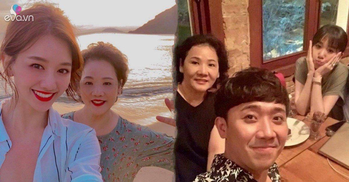 Nhan sắc của mẹ ruột Hari Won lung linh ra sao mà Trấn Thành gọi bằng chị ngọt xớt?