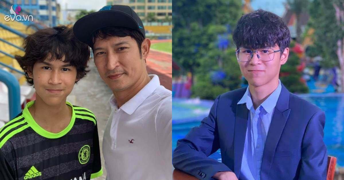 Con riêng giàu có của Huy Khánh mới 14 tuổi đã cao gần 1m8, trổ mã điển trai