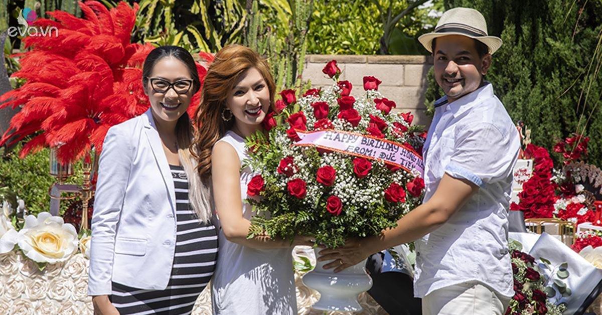 Đức Tiến cùng hội bạn tổ chức sinh nhật cho Nguyễn Hồng Nhung trong biệt thự triệu đô tại Mỹ