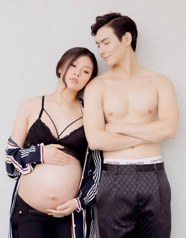 """tung khong muon sinh vi so hong dang, chan dai hai phong """"u muu"""" co bau truoc voi trai dep - 4"""