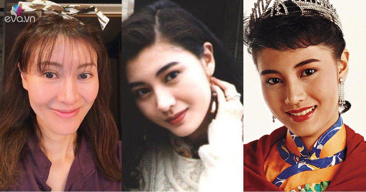 Hoa hậu đẹp nhất lịch sử Hong Kong không ngại chụp ảnh cận mặt khoe đầy nếp nhăn