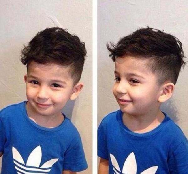 20 kiểu tóc đẹp cho bé trai phù hợp với mọi độ tuổi 2020