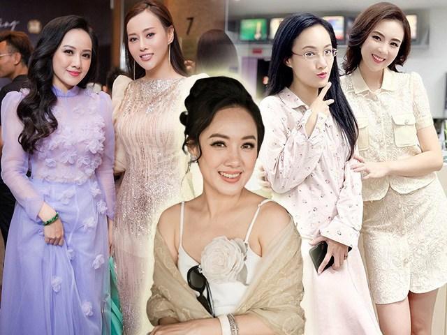Đọ sắc bên Hoa hậu VTV và Phương Oanh, BTV Hoài Anh dù hơn gần 10 tuổi vẫn trẻ đẹp