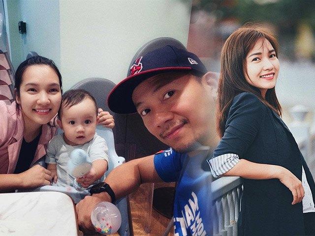 Giờ mới lộ mặt sau nhiều tháng sinh con, vợ Đinh Tiến Đạt thu hút CĐM bởi một chi tiết