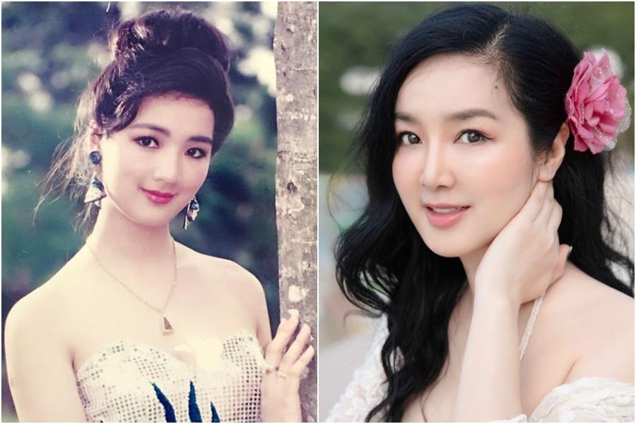 "hoi my nhan chau a so huu nhan sac ""ngung dong"" thoi gian: vbiz cung co 2 hoa hau - 19"