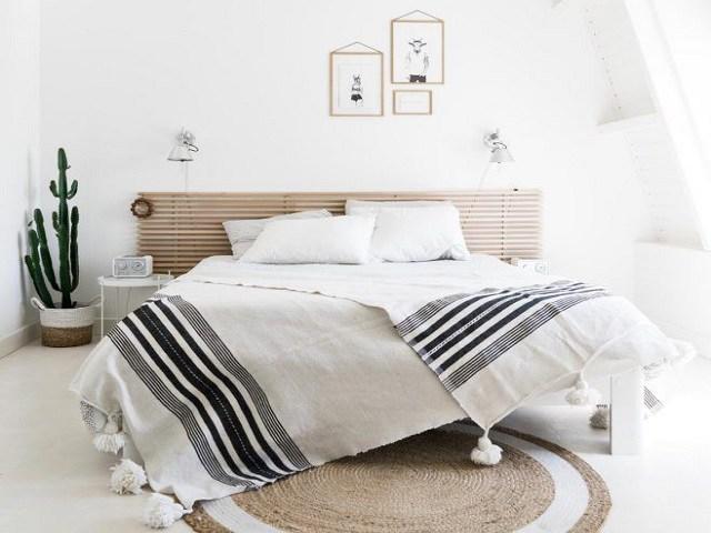 Cách trang trí phòng ngủ đơn giản vẫn đẹp rụng rời