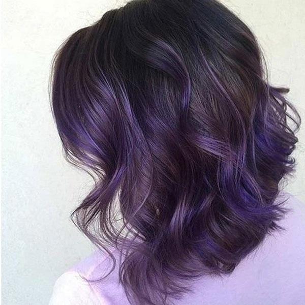 Những màu tóc xanh đen cho nữ đẹp và hot nhất hiện nay
