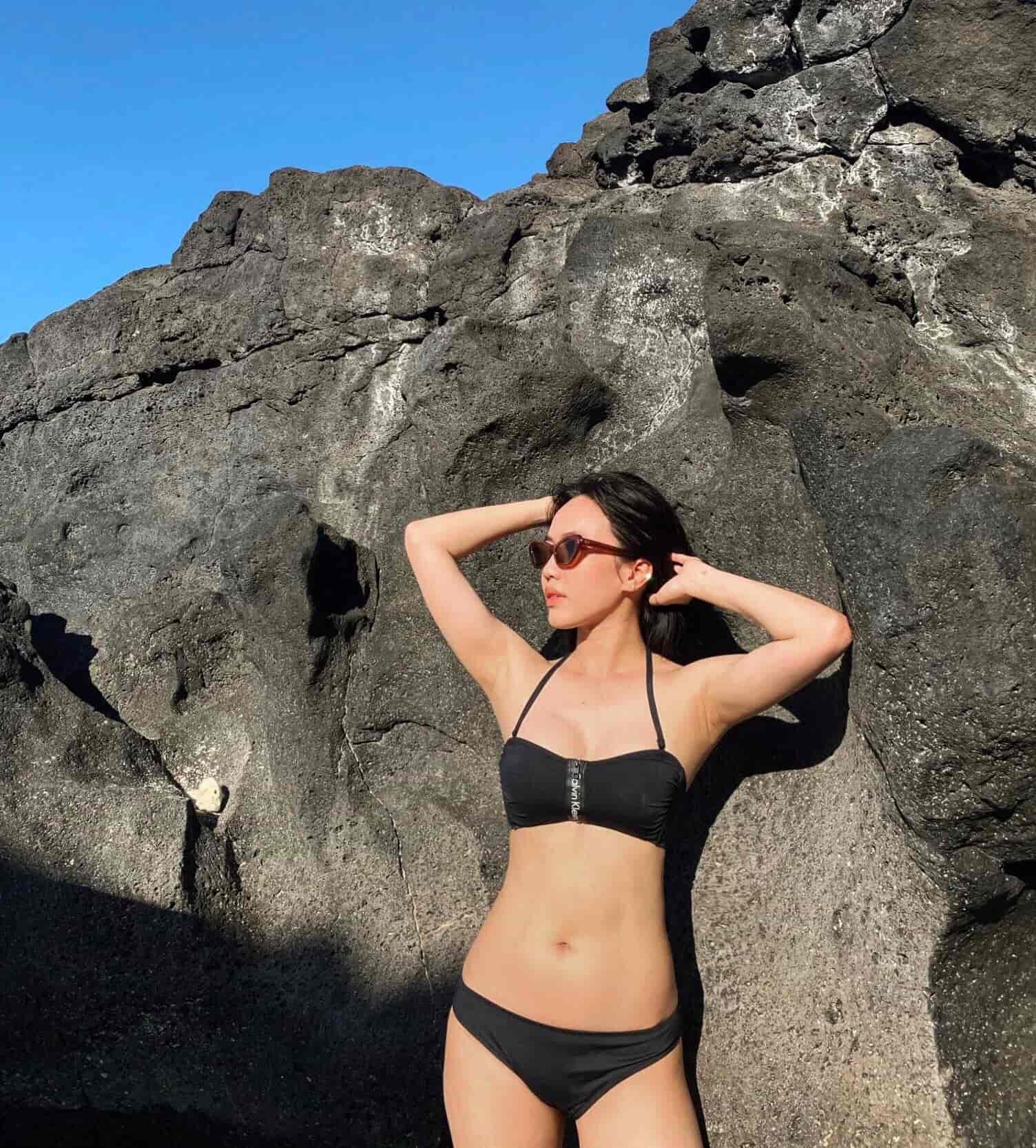 Phục thù sau 5 năm bị chê dáng đô: Diệu Nhi tự tin diện bikini khoe eo siêu nhỏ - 5