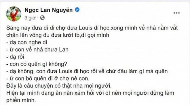 "nguoi dep viet ""roi nao"" sau sinh: ngoc lan quen di ngoai cho, chuyen cua nha phuong moi hai - 3"