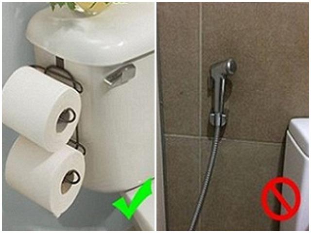 Tại sao bồn cầu ở Mỹ không được trang bị vòi xịt? Lý do sẽ khiến bạn ngạc nhiên