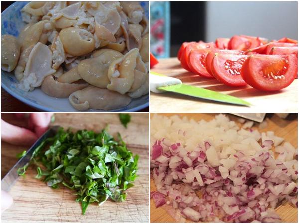 Cách làm lòng xào dưa chua giòn ngon không bị đắng cực đơn giản - 10