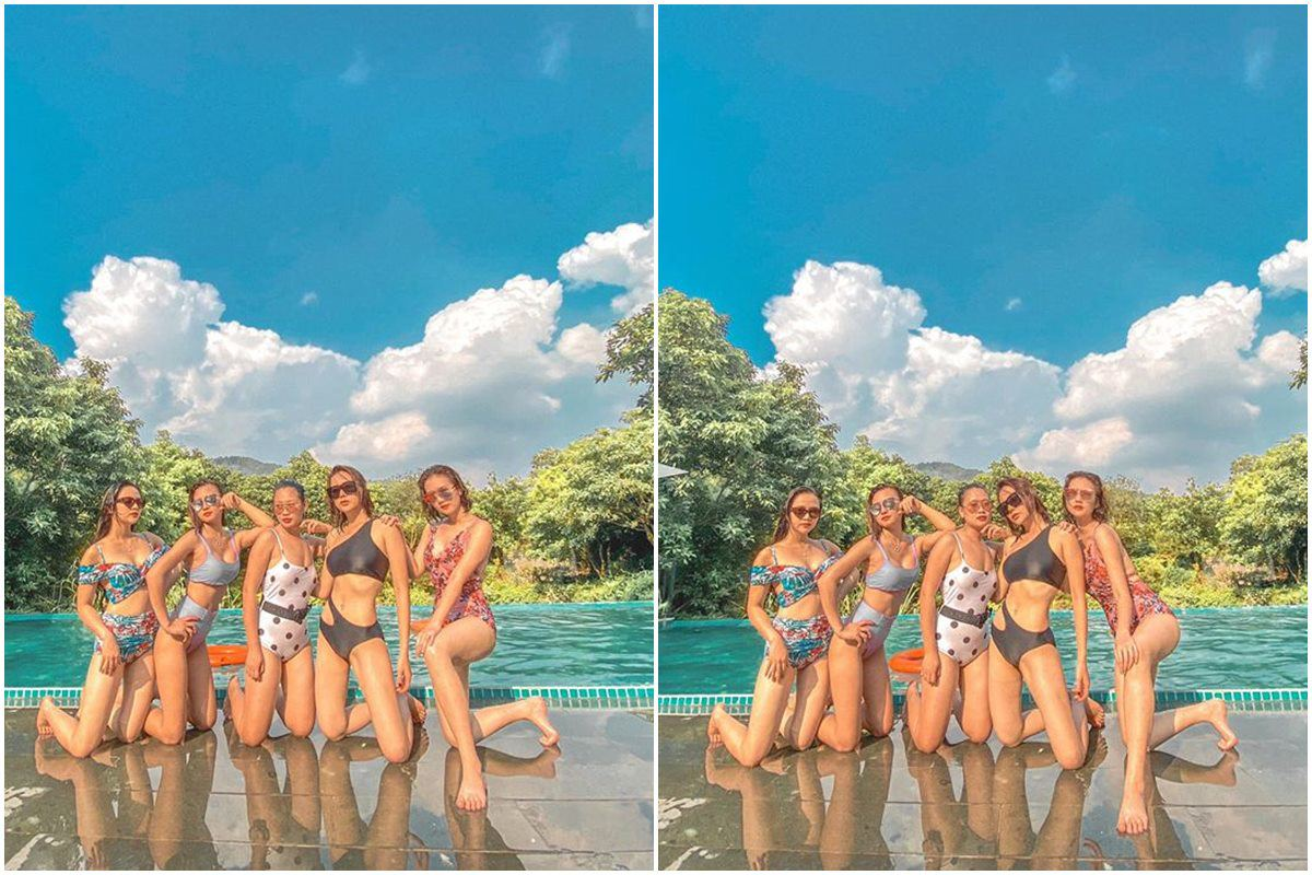 phuong oanh dien bikini dep nhu my nhan ngu, chi nhin tu phia sau nhung vong 3 du hut song - 9