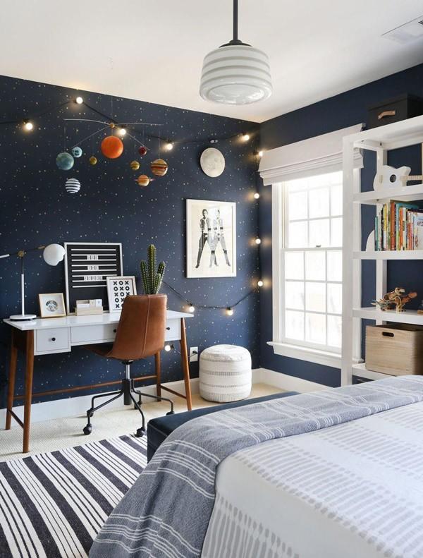 Những mẹo chọn giấy dán tường phòng ngủ đẹp rụng rời bất cứ ai cũng phải xao xuyến - ảnh 11