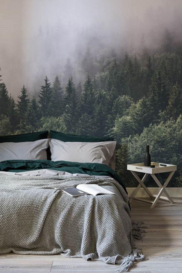 Những mẹo chọn giấy dán tường phòng ngủ đẹp rụng rời bất cứ ai cũng phải xao xuyến - ảnh 15