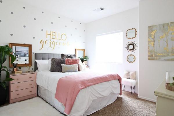 Những mẹo chọn giấy dán tường phòng ngủ đẹp rụng rời bất cứ ai cũng phải xao xuyến - ảnh 8