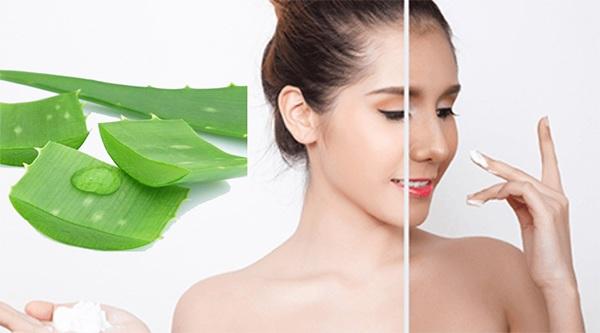 Nha đam có tác dụng gì với làm đẹp da mặt và dưỡng tóc ?