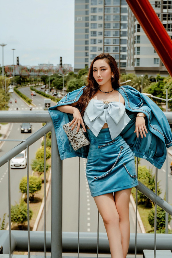 """nhan sac ngay cang thang hang cua """"nu hoang than thien nganh lam dep 2019"""" yumi lu - 6"""