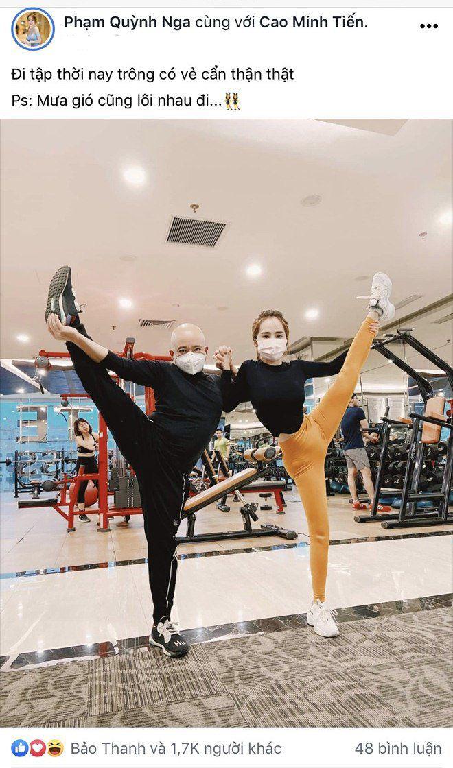 """Sao Việt tập gym hết mình vẫn mang trang bị """"ngộp thở"""", giảm cân nhanh nhưng dễ bị kiệt sức? - 1"""
