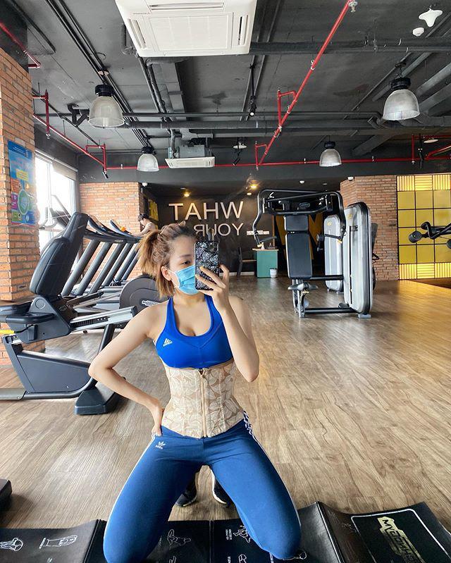 """Sao Việt tập gym hết mình vẫn mang trang bị """"ngộp thở"""", giảm cân nhanh nhưng dễ bị kiệt sức? - 13"""