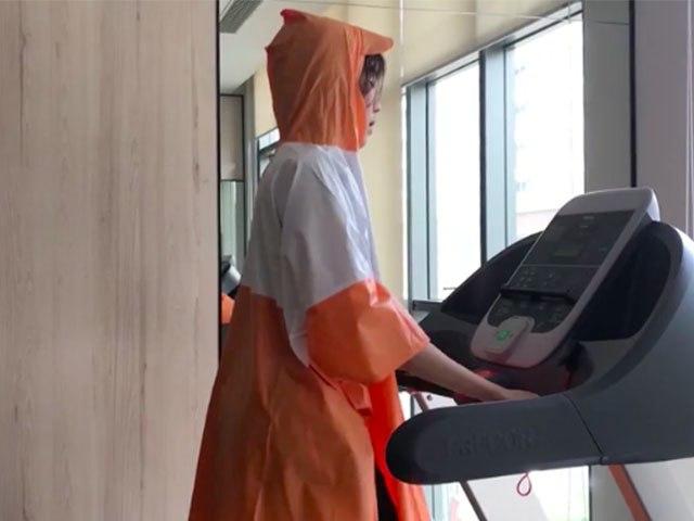 """Sao Việt tập gym hết mình vẫn mang trang bị """"ngộp thở"""", giảm cân nhanh nhưng dễ bị kiệt sức? - 8"""