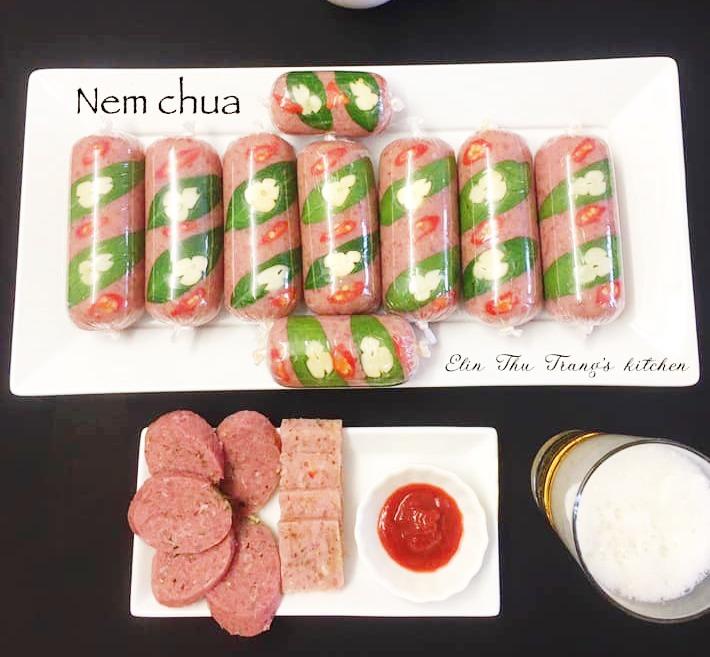 Học cách làm nem chua từ 2 loại thịt tuyệt ngon của mẹ đảm, chỉ 3 ngày là ăn được - 5