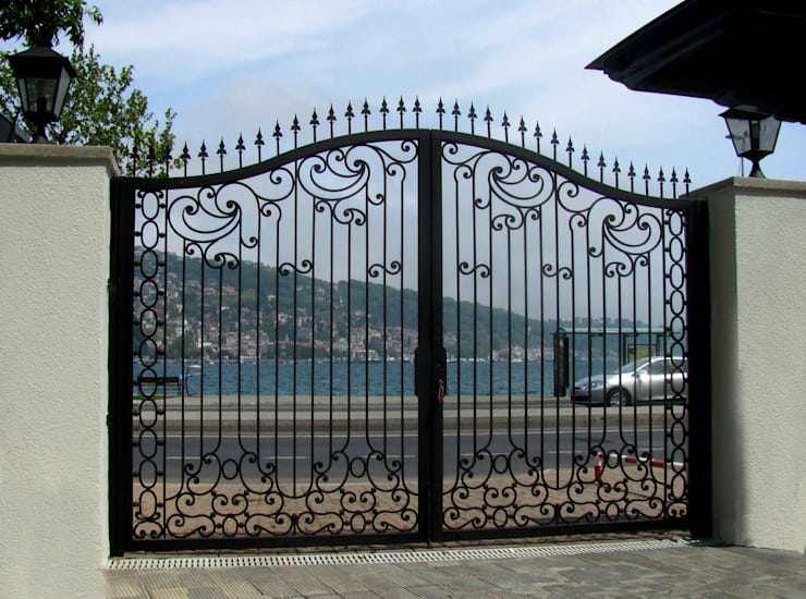Những mẫu cổng nhà đẹp đơn giản nhưng hiện đại và sang trọng nhất 2020 - 7