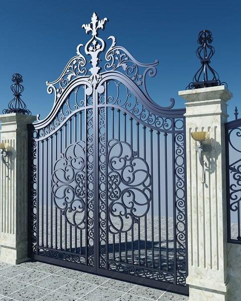 Những mẫu cổng nhà đẹp đơn giản nhưng hiện đại và sang trọng nhất 2020 - 9