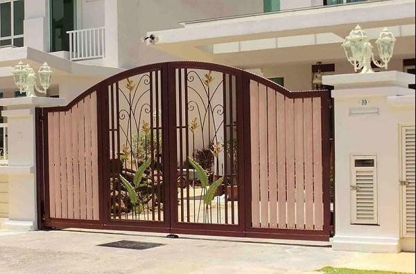 Những mẫu cổng nhà đẹp đơn giản nhưng hiện đại và sang trọng nhất 2020 - 10