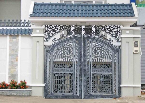 Những mẫu cổng nhà đẹp đơn giản nhưng hiện đại và sang trọng nhất 2020 - 14