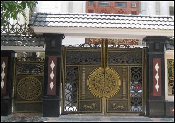 Những mẫu cổng nhà đẹp đơn giản nhưng hiện đại và sang trọng nhất 2020 - 15