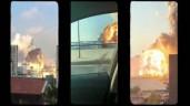 Video vụ nổ khủng khiếp ở thủ đô Liban qua góc quay của 15 camera