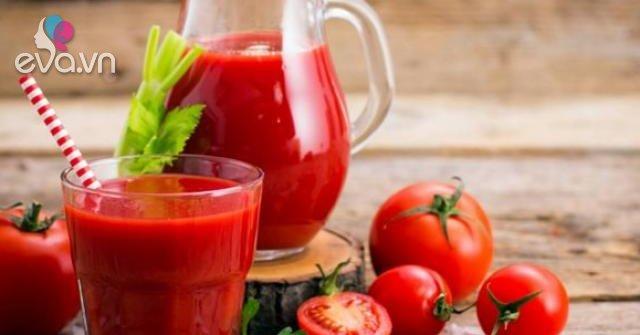 Cách làm nước ép cà chua ngon, dễ uống giữ nguyên dưỡng chất