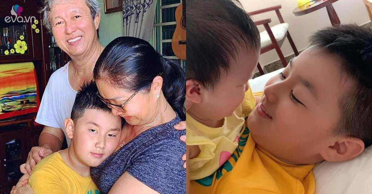 Vừa đón Cà Pháo lên TPHCM sống cùng chồng trẻ, Lê Phương đã giao nhiệm vụ cho con