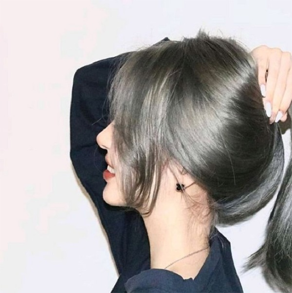 Màu tóc xám khói đẹp nhất 2020 phù hợp với mọi loại da