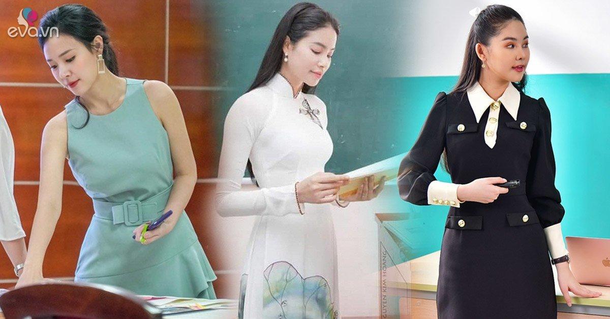 Mỹ nhân Việt lên giảng đường dạy học: người ăn mặc giản đơn, người diện hẳn đồ hiệu