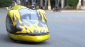 Sinh viên sáng chế xe tiết kiệm nhiên liệu: Có thể chạy 400km chỉ với 1 lít xăng