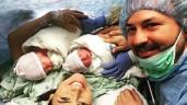 Cặp song sinh gây sốt vì ôm nhau cười khi chào đời, 2 năm sau vẫn không thể ngừng cười