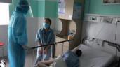 Trong khu cách ly đặc biệt của bệnh nhân nặng từ bệnh viện Đà Nẵng