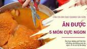Sài Gòn hẻm: Bánh bò nướng chấm sốt hay bánh nếp đậu phộng, bạn mê bánh nào?