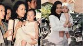 Sao Việt 24h: Hình ảnh hiếm của Hiền Thục khi làm mẹ năm 21 tuổi giờ mới được công khai