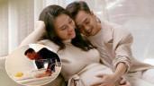 """Cường Đô La chăm con gái thay vợ lúc nửa đêm, nhìn đúng chuẩn """"bố bỉm sữa"""""""