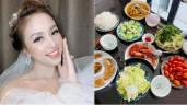 Bí mật lấy chồng lần 2, MC Thanh Vân Hugo khoe bữa cơm ngon mắt, đích thị là vợ đảm