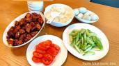 """Mẹ Việt ở Mỹ miệt mài vào bếp bị chồng con """"đổ vạ"""" nấu ngon làm """"ăn no căng bụng"""""""