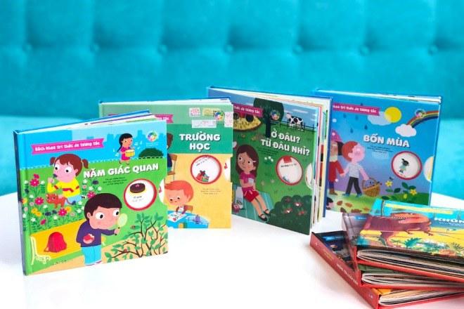 Bộ sách tương tác bách khoa tri thức độc đáo dành cho trẻ em từ 3 đến 8 tuổi - 1