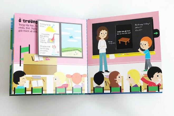 Bộ sách tương tác bách khoa tri thức độc đáo dành cho trẻ em từ 3 đến 8 tuổi - 3