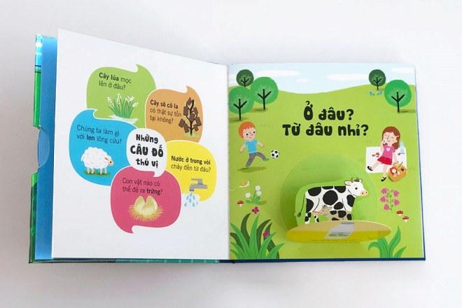 Bộ sách tương tác bách khoa tri thức độc đáo dành cho trẻ em từ 3 đến 8 tuổi - 4