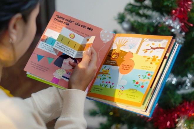 Bộ sách tương tác bách khoa tri thức độc đáo dành cho trẻ em từ 3 đến 8 tuổi - 8