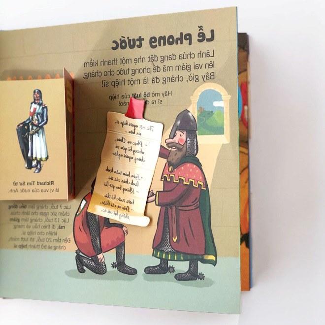 Bộ sách tương tác bách khoa tri thức độc đáo dành cho trẻ em từ 3 đến 8 tuổi - 9