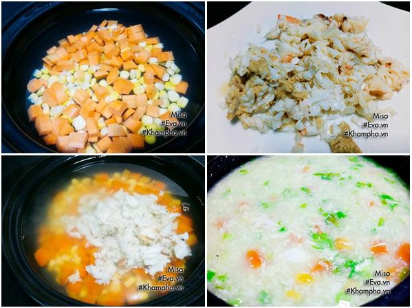 cách nấu súp cua ngon đơn giản tại nhà không bị chảy nước