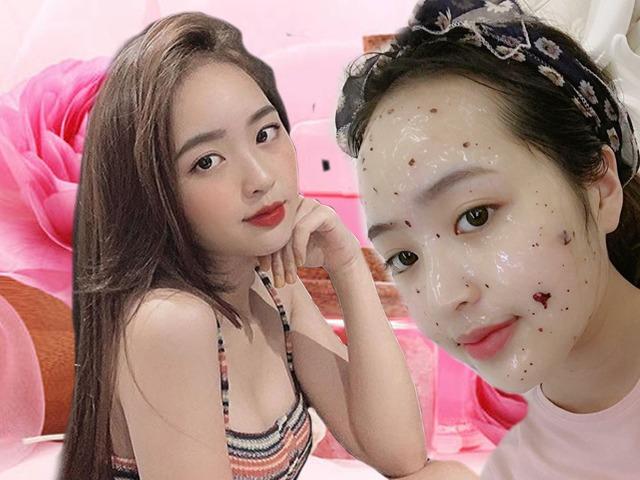 Không cần đổ xô đi spa: Tự làm mặt nạ collagen hoa hồng cho da căng mịn, trắng hồng - 1